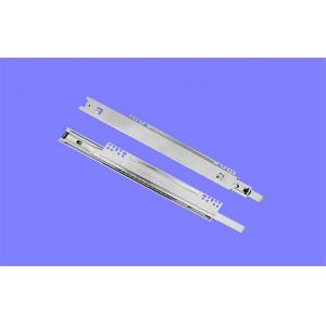 China Metal Ball Bearing Drawer Runners 350mm , Ticket Support Kitchen Drawer Slides on sale