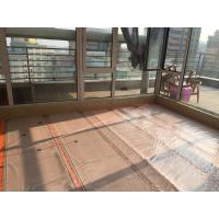 China Waterproof 220W Infrared Floor Heating Film Flame Retardant With Graphene Synthetic Fiber Material on sale