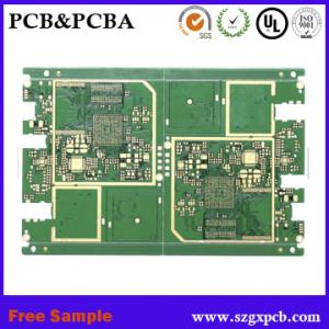 China Polyimide and FR4 Rigid Flexible PCB, Multilayer FPC circuit board single-sided board for mobile power supply on sale