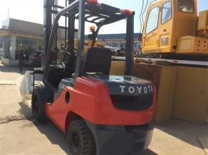 China Used Toyota Forklift With Bale Clamp Hot For Sale in China , Toyota Forklift Japan Deisel on sale