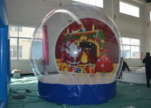 China Advertising Christmas Yard Inflatables Ball , Inflatable Outdoor Christmas Decorations on sale