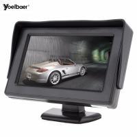 mini tv car monitor 4.3 inch tft lcd standalone car reversing monitors
