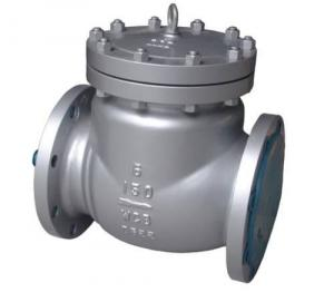 China Heavy Duty Full Port 6 Inch Check Valve Flange Type BS 1868 ANSI 150 on sale