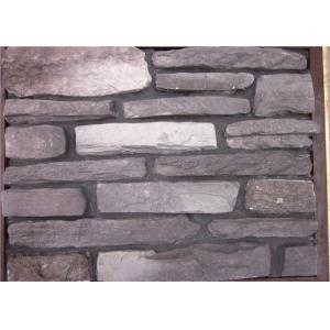 China Multi - Shape Concrete Brick Veneer , Artificial Faux Stone For Outside Of House on sale