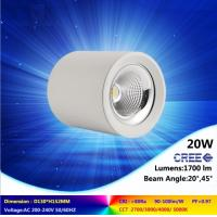 high quality ceiling lamp 10W to 45W 2700-6500K CREE COB led downlight super bright light