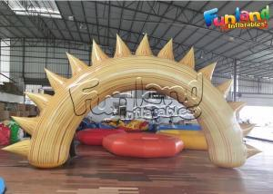 China Blow Up Archway 0.65mm PVC Inflatable Advertising Balloons on sale