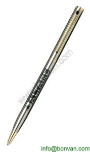 China promotional gift steel pen, printed logo stainless steel pen on sale