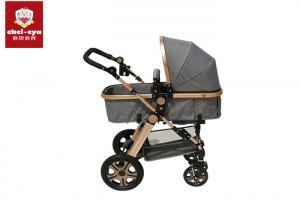 China 2 In 1 Trolley Baby Pushchair Stroller 4 Big Wheels Reversible Seat Portable Pram on sale