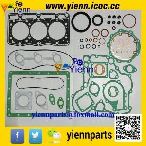 China Kubota D1105 3D78 piston +ring+cylinder liner+full gasket kit with head gasket for KX41 KX61 engine overhual rebuild on sale