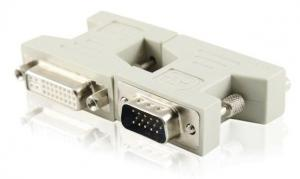 China DVI to VGA DVI-I(24+5) female to D-Sub 15P male Adapter Converter on sale