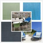 Eco Friendly UV Resistant PVC Mesh Fabric / Garden Chair Mesh Fabric