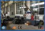 Single or Double Screw Recycle Plastic Granules Making Machine High Speed 80-220kg/h