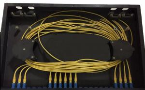 Quality 12 Fibers ODF Optical Fiber Distribution Frame Well Cable Management for sale