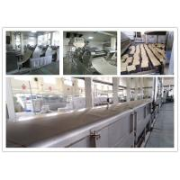 Stainless Steel Big Capacity Fried Instant Noodle Machine CE And ISO Passed