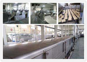China Stainless Steel Big Capacity Fried Instant Noodle Machine CE And ISO Passed on sale