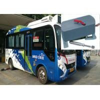 China 12V / 24V Electric Bus Door Opening Mechanism Bi - Fold With Panel And Rubber on sale