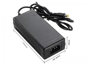 China Black 12V 5A Computer AC Adapter , Desktop Power Adapter on sale