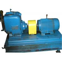 Screw Structure Low pulse Mechanical Seal Paper Pulp Pump With Electric Motor