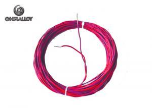China Fiberglass Insulation Thermocouple Cable  Multi Strands Silicone Rubber Jacket on sale
