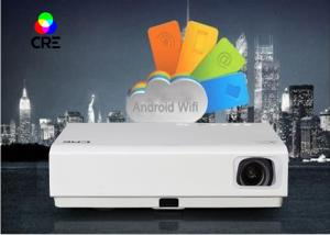 China High Definition Multimedia 3D DLP LED Projector CRE X3001 OEM / ODM Service on sale