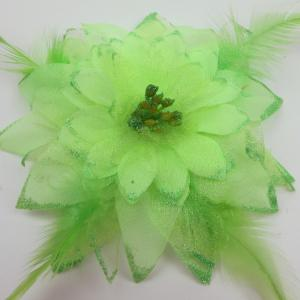 China Cute Dance Wear Accessories Realistic Artificial Flowers For Head Waist Decoration on sale