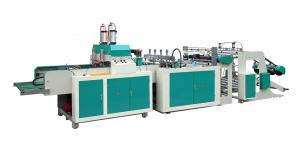 China Full Automatic Hot Sealing and Cold Cutting T Shirt Bag Making Machine on sale