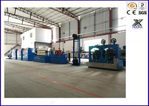 China Super Wire And Cable Machinery PLC Triple Layer Tape Wrapping And Sintering on sale