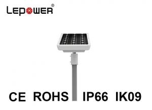 China Integrated Solar Outdoor LED Street Lights 60 Watts Controller Reflector Battery Backup on sale