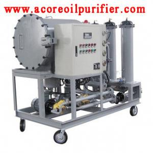 China Diesel Fuel Oil Filtration Machine,Coalescing Separation System on sale