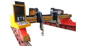 China Heavy duty Plasma stainless steel plate CNC cutting machine on sale
