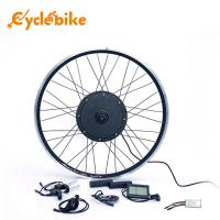 48V 750W Front Wheel Electric Bicycle Conversion Kit High Speed 40-45km/h