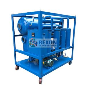 China 3000 LPH Industrial Oil Water Separator Vacuum Oil Filter Machine SGS Certificate on sale
