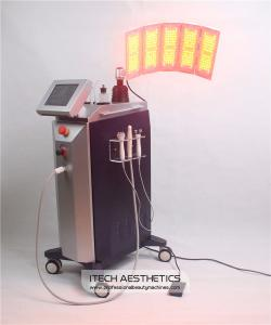 China PDT LED Light Therapy Machine with BIO Bipoalr Hexpolar Microcurrent Oxygen Jetpeel on sale