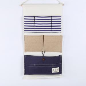 China Puting hanging storage bag pockets organizer door wall chest holder customized blue on sale