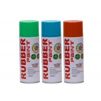 China Removable Car Rim Rubber Spray Paint Fluorescent Liquid Coating Abrasion Resistance on sale