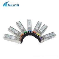 China Fiber Optic SFP Ethernet Module 1.25g Cwdm Sfp 1270-1610nm RoHS Compliant on sale