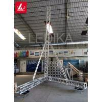 Concert Equipment Audio Hanging Line Array Speaker Truss For Event / Wedding
