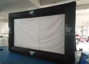 China Portable Inflatable Projector Movie Screen Logo Printing EN14960 Approved on sale