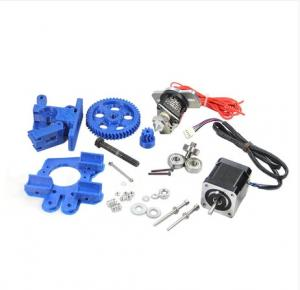 China Blue ABS Filament 3D Printer Diy Kit Hotend NEMA17 Stepper Motor Extruder Kits on sale