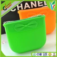 China Durable, Flexible Silicone Shopping Bag With No Pvc Bag Candy Color on sale