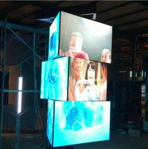 Indoor P5 Digital Rotate Led Display For Airport Station