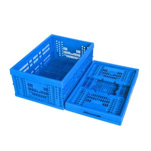 China Plastic Collapsible Plastic Containers For Vegetable Fruit Crates Standard Size on sale