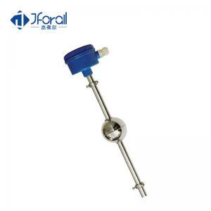 China Magnetic Float Level Switch 4~20mA Output , Float Level Transmitter 24V DC on sale