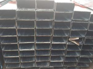 China Welded Precision Seamless Steel Pipe / Hollow Rectangular Steel Pipe For Fitness Equipment on sale
