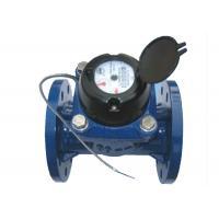 DN80 Cast Iron Multi Jet Woltman Water Meter / Vane Wheel Magnetic Hot Water Meter
