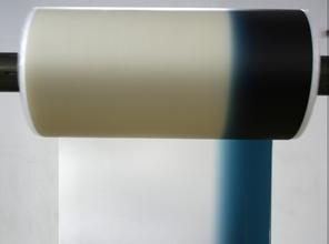 China 0.76mm color band PVB film green blue on clear for auto glass windshield on sale