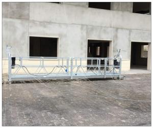 China Philippines temporary suspended platform aluminium steel gondola ZLP800 on sale