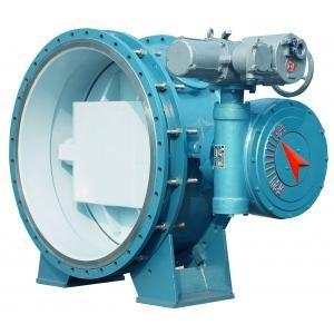 China DN800 150PSI PN10 Disc Butterfly Check Valve Fusion Bonded Epoxy Ductile Iron on sale