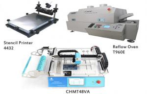 China SMT Production Line Chip Mounter Machine T960 Reflow Oven Approved CE on sale