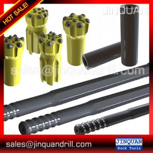 China Drilling accessories T51 MF rod for I.R. ECM-690 hydraulic drill with carousel rod changer on sale